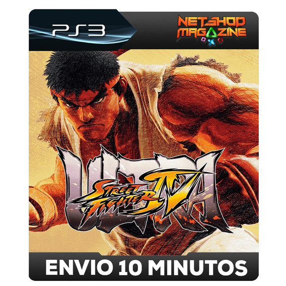 Ultra Street Fighter Iv - 4 - Psn Ps3 - Envio Imediato