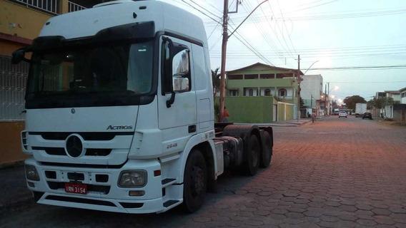 Mercedes-benz Actros 2010-2011 Branco