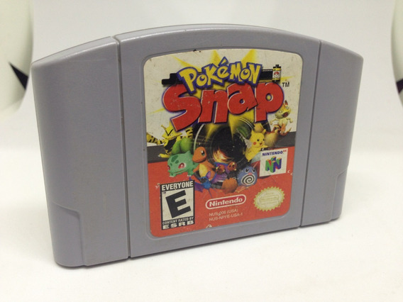 Pokemon Snap - Nintendo 64 - Cartucho Original - Oxidaçao