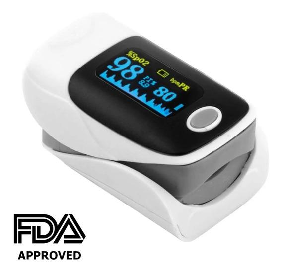 Oximetro Pulso Dedo Pulsioximetro Digital Pediatrico Adulto