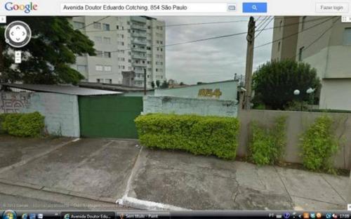Terreno, 874 M² - Venda Por R$ 5.500.000 Ou Aluguel Por R$ 20.000/mês - Vila Formosa - São Paulo/sp - Te0162