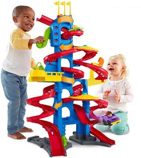 Little People Gran Pista Rascacielos Mattel Nueva