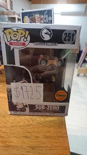 Sub Zero Funko Pop Chase