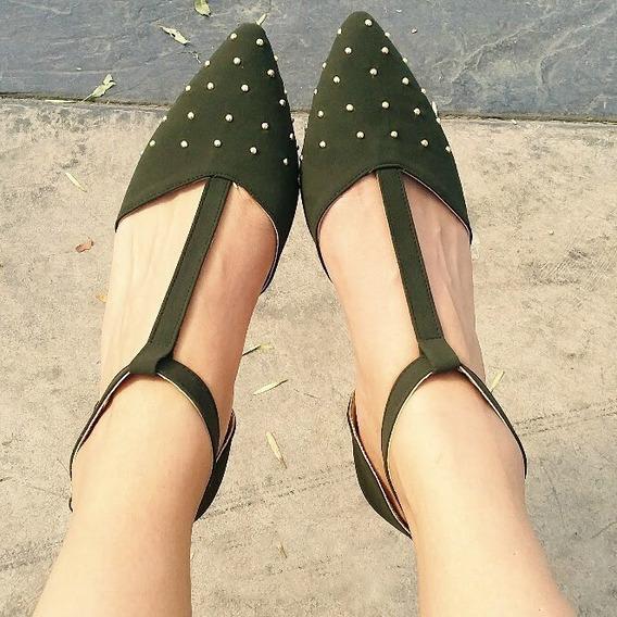 Zapatos Dama Flats Pico
