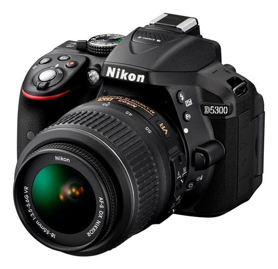 Nikon D5300 + Kit 18-55mm - 24mp