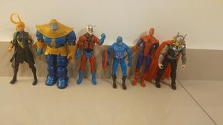 Lote De 8 Muñecos Articulados Los Vengadores Avengers