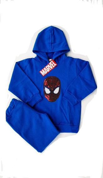 Pantalón Nene,buzo Frizado Nene Spiderman,hombre Araña