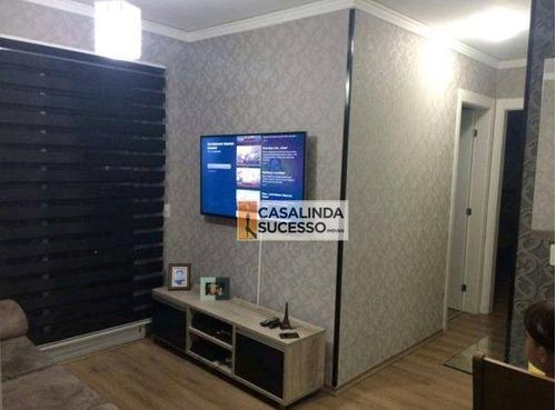 Imagem 1 de 8 de Apartamento 53m² 2 Dormts. 1 Vaga Próx. Ao Metrô Penha - Ap5590 - Ap5590
