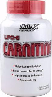 Lipo-6 Carnitine 60 Cápsulas