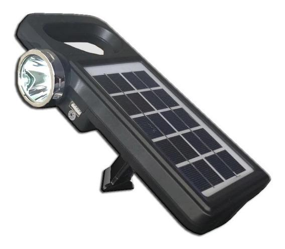 Panel Solar De 5v 1.8w, 2 Lamparas Y Cargador Usb