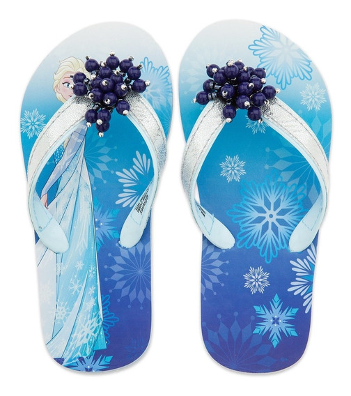 Ojotas Frozen Elsa O Bella Disney Store Orig Import-v.crespo