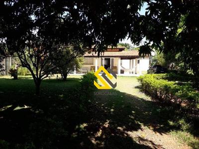 Chácara Com 3 Dormitórios À Venda, 1000 M² Por R$ 350.000 - Parque Monte Castelo - Araçoiaba Da Serra/sp - Ch0018