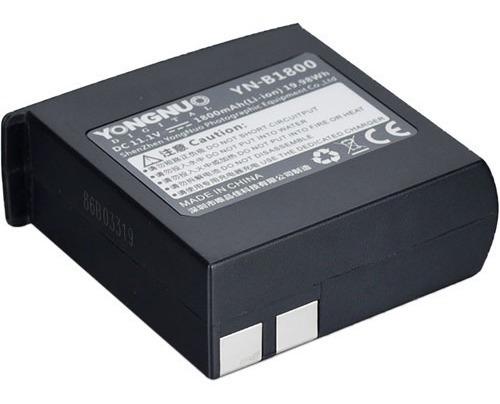 Bateria Yong Nuo Yn-b1800 P/ Flash Yn860 Li
