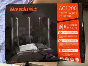 Roteador Tenda Ac11 Gigabit Dual Band 5 Antenas 6dbi Caixa