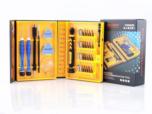 Kit De Ferramentas Profissional Celular 38 Em 1 Yaxun Yx6028