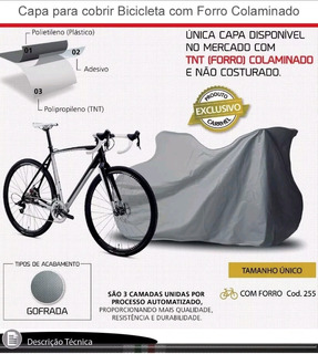 Capa Para Cobrir Bicicleta Bike Suspension Mountain Forrada