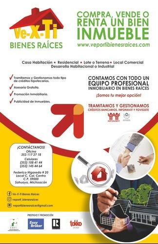 Venta, Renta, Casa, Terreno, Bodega, Quintas, Rancho, Federico Higareda 20 Local C, Sahuayo, Jiquilpan Michoacan