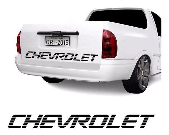 Faixa Chevrolet Corsa Picape Pick-up Tampa Traseira