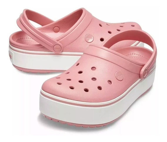 Crocs Crocband Plataforma Originales Adulto - Local Olivos