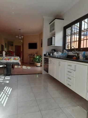 Sobrado Com 3 Dormitórios À Venda, 311 M² Por R$ 1.380.000,00 - Paraíso - Santo André/sp - So2293