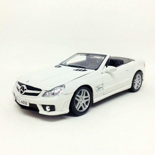 Miniatura De Mercedes Benz Sl63 Amg 2009 1:18 Maisto