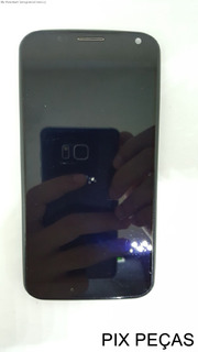 Display + Touch Frontal Moto X X1 Xt1058 Retirado Usado