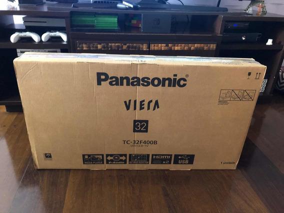 Tv Led Lacrada Panasonic 32- Na Caixa