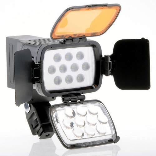 Reflector De 10 Ampollas Video Profesional+accesorios,nuevo