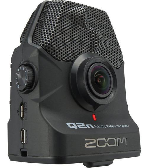 Mini Filmadora Zoom Q2n Handy Video Recorder