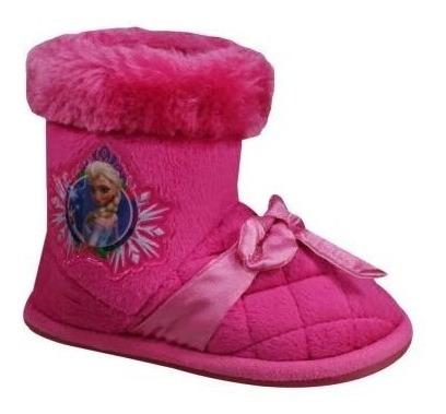 Pantufa Botinha Frozen Pink Ricsen