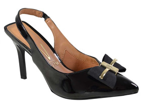 719b25f95 Scarpin Duas Cores Feminino Sandalias Ramarim - Sapatos no Mercado ...