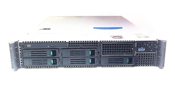 Servidor Rack 2u Intel - Dual Xeon Hd 2tb Sata 32gb