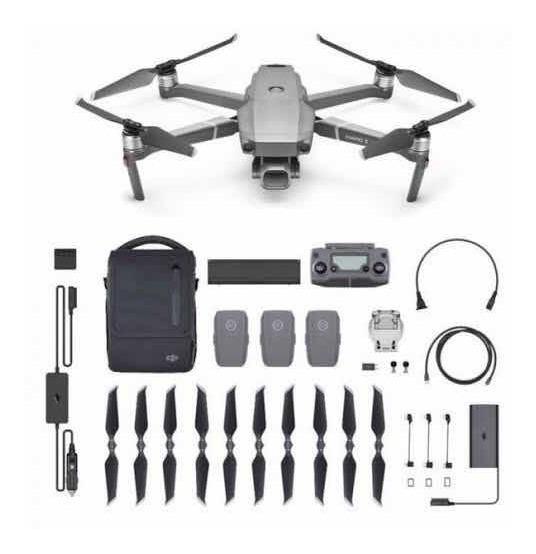 Drone Mavic 2 Pro Fly More - 1 Ano De Garantia Nf-e Desconto
