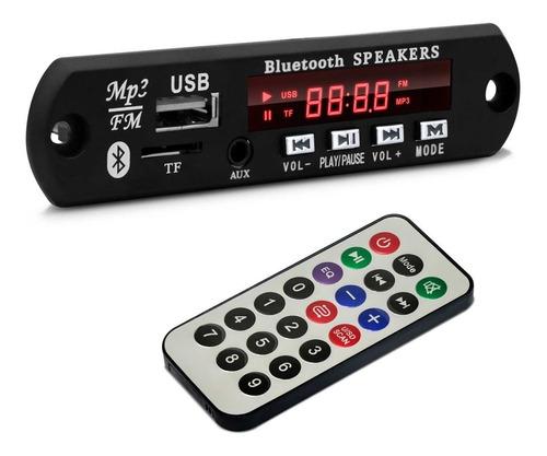 Imagem 1 de 5 de Placa Amplificador Modulo Bt-373 Usb Mp3 Aux Sd Bluetooth