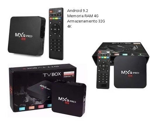 Acessório Para Tv. Android 9.1 Smart Box 4gb/32gb Wi-fi 5g