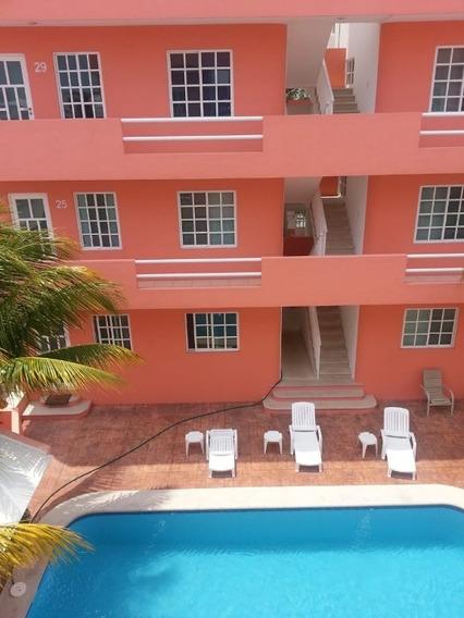 Excelente Inversion En Cancun, Edificio Con Estudios Rentados C2552