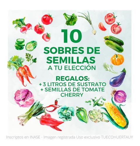 Imagen 1 de 8 de Semillas Huerta Y Aromáticas - A Elección - De Estación