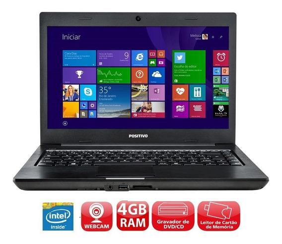 Notebook Positivo Dual Core - Hd 320gb - Mem 4gb - Notebook Barato Com Garantia Revisado Pronta Entrega !!!