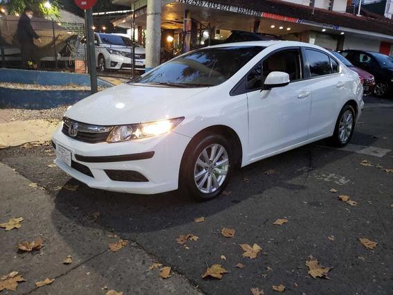 Honda Civic 1.8 Lxs Mt, Anticipo Mas Cuotas, Permuto, Finan.