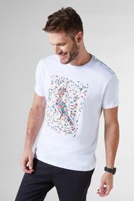 Camiseta Pica-pau Pixels Reserva
