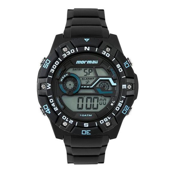 Relógio Mormaii Mo9030aa8a Preto