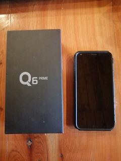 Celular LG Q6 Prime 32gb, Memoria Expandible, 3gb De Ram
