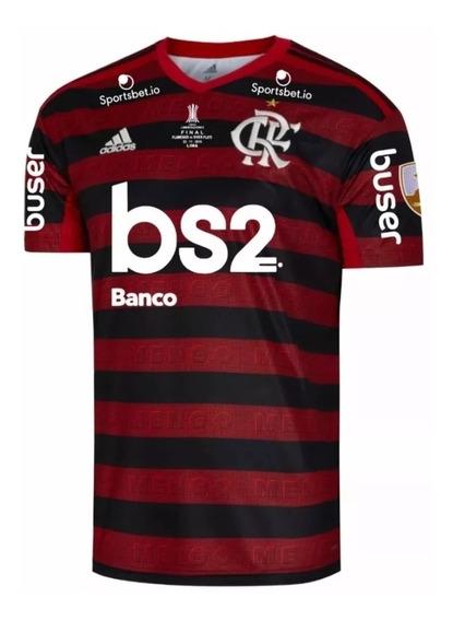 Camisa Flamengo Final Libertadores Oficial Envio Já