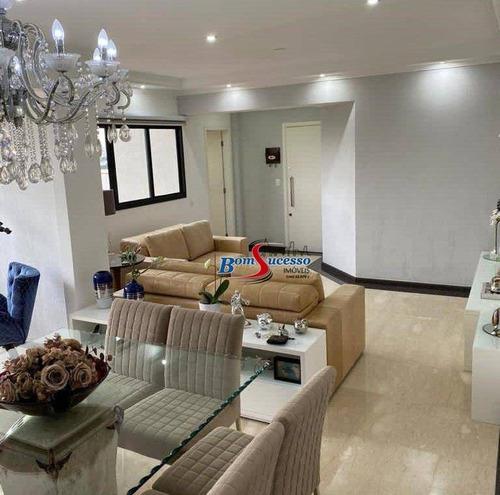 Imagem 1 de 18 de Apartamento Com 3 Dormitórios À Venda, 115 M² Por R$ 790.000 - Vila Prudente - São Paulo/sp - Ap3142