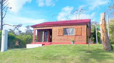 Cabaña 2 Dorm.parrilla Fdo Para 5 Pers.a 1 Y 1/2 De La Playa