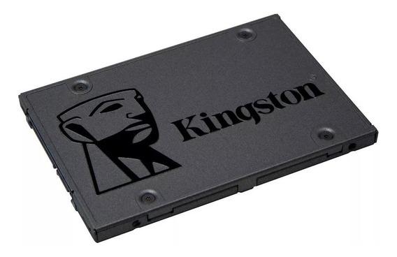 Ssd 480gb Kingston A400 + Adaptador Caddy Slim 9.5mm