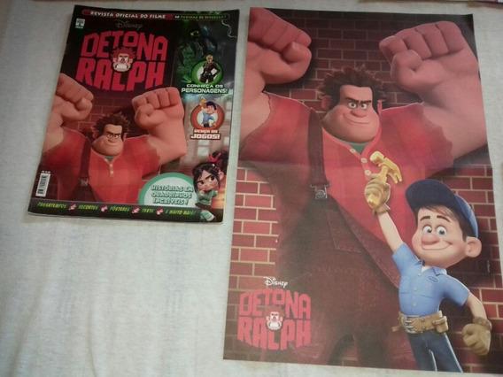 Revista Detona Ralf + Poster