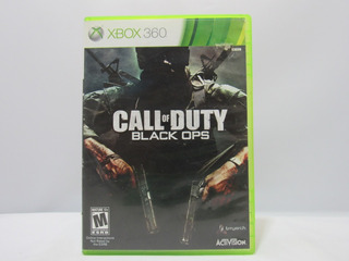 Call Of Duty: Black Ops -xbox 360 ¡fisico-usado!