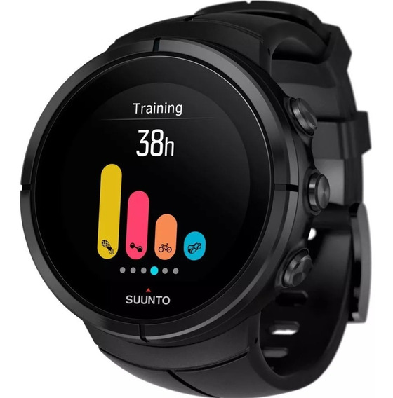 Relógio Suunto Spartan Ultra All Black Titanium Hr Gps
