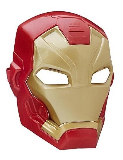 Marvel Capitán América Civil War Iron Man Tech Máscara Fx